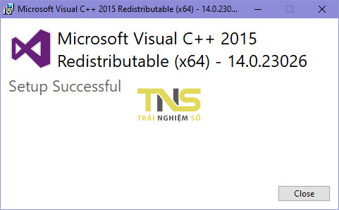 "visual c retribution 2015 4 - Cách sửa lỗi""api-ms-win-crt-runtime-l1-1-0.dll is missing"""