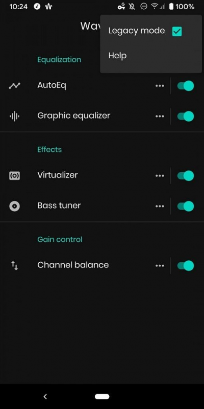 Cách nghe nhạc trên Android cực hay với EQ tự động 1