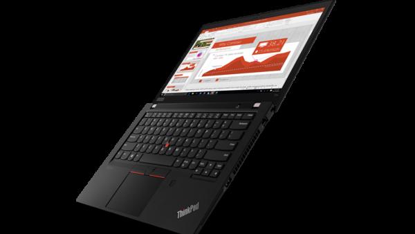 03 Thinkpad T14 Hero Left Side 1 600x338 - Lenovo ra mắt bộ đôi laptop ThinkPad T Series mới