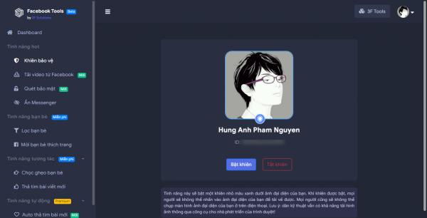 Like bài viết tự động, chống tải ảnh avatar, tải video,… trên Facebook 4