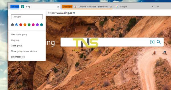 Cách sử dụng Tab Groups trên Chrome, Microsoft Edge 4