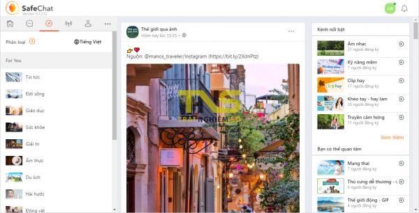 Trải nghiệm SafeChat, mạng xã hội đặt sự an toàn và riêng tư của người dùng lên trên hết 3