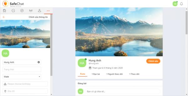 Trải nghiệm SafeChat, mạng xã hội đặt sự an toàn và riêng tư của người dùng lên trên hết 19