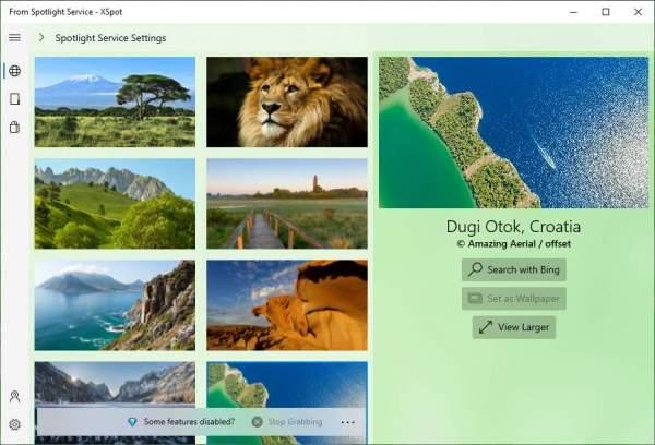 XSpot: Ứng dụng UWP tải hình ảnh Windows Spotlight trên Windows 10 2