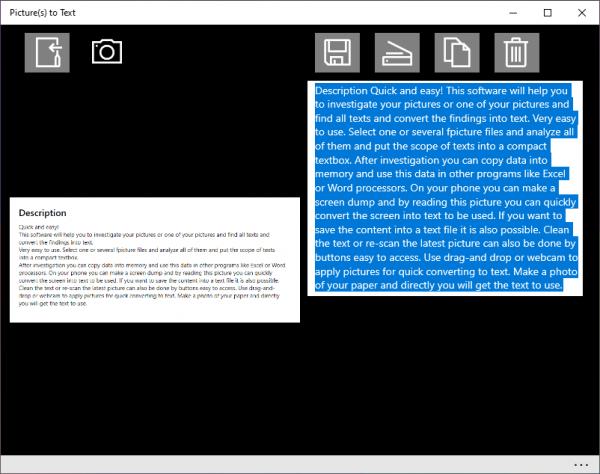 Chia sẻ 2 ứng dụng UWP trích xuất văn bản trong ảnh mà không quảng cáo 3