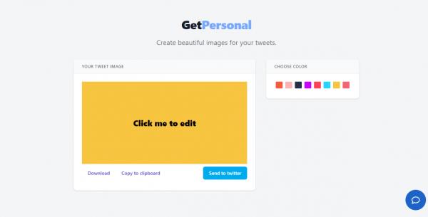 Cách đăng tweet với màu nền theo phong cách Facebook 1