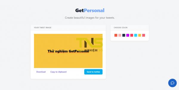 Cách đăng tweet với màu nền theo phong cách Facebook 2