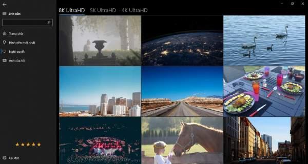 Tải hình ảnh 8K, 5K, 4K làm nền cho Windows 10 2