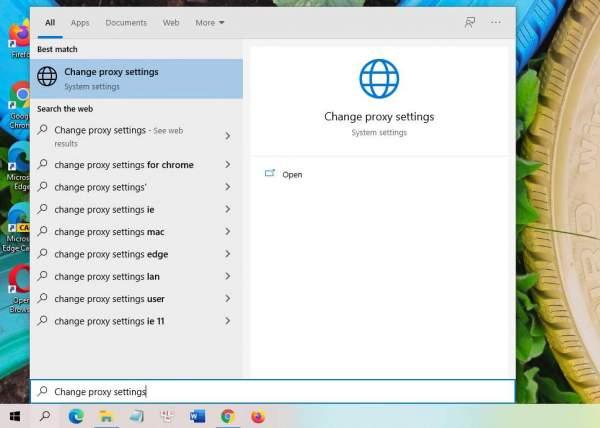 Cách xử lý lỗi không mở được trang web sau khi gỡ bỏ phần mềm thay đổi proxy, VPN 1