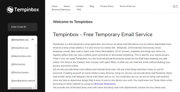 Tạo email ảo bảo vệ hộp thư chính của bạn trước spam 3