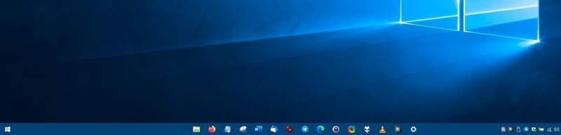 CenterTaskbar is an open source portable program that dynamically positions icons in the center of the taskbar 800x193 - CenterTaskbar - Đem các biểu tượng ra giữa thanh taskbar