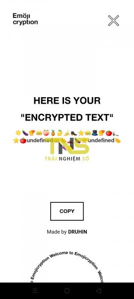Chỉ bạn cách mã hóa tin nhắn bằng emoji trên Android 2