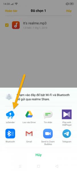 Gửi file lên Firefox Send, WeTransfer, SendGB,… trong một nơi 3