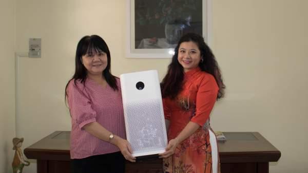 Xiaomi Việt Nam tặng 50 máy lọc không khí cho các trường mầm non tại quận Bình Tân 2