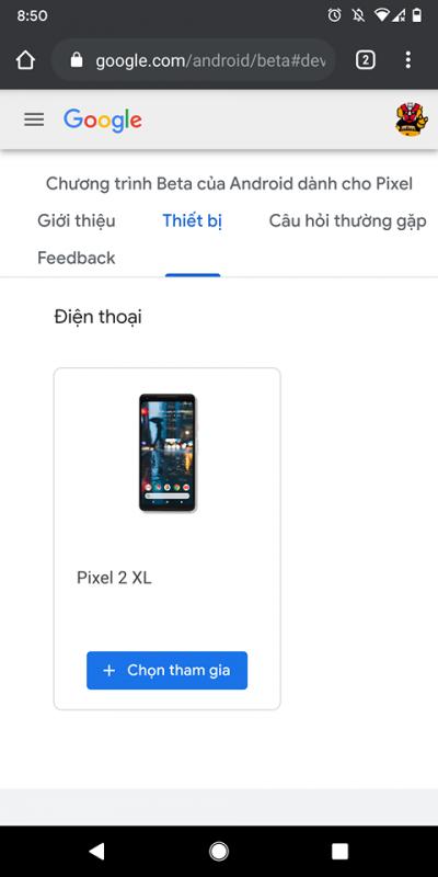 Cách cài đặt Android 11 Beta lên điện thoại Google Pixel 1