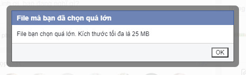 2 cách gửi file dung lượng lớn qua Facebook 1