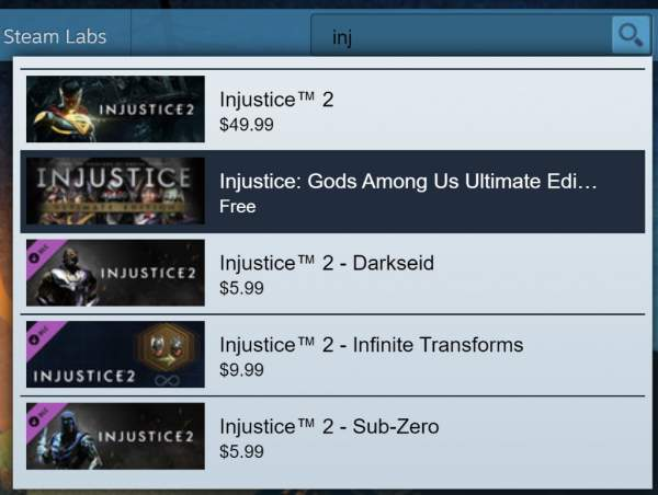 Đang miễn phí game fighting Injustice: Gods Among Us Ultimate Edition trên Steam