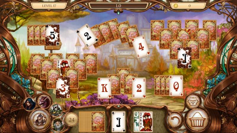 Đang miễn phí game Snow White Solitaire Charmed Kingdom 1