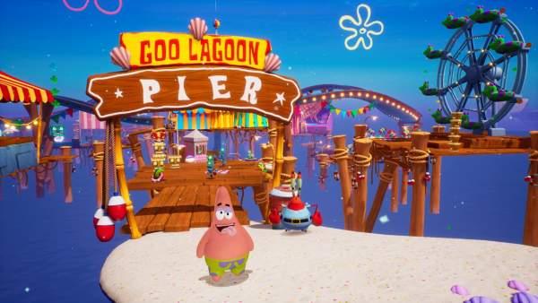 spongebob squarepants battle for bikini bottom rehydrated switch screenshot 1 600x338 - Đánh giá game SpongeBob SquarePants: Battle for Bikini Bottom – Rehydrated