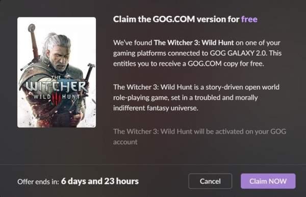 Nhanh tay nhận miễn phí game The Witcher 3: Wild Hunt bản PC nếu đã sở hữu trên các hệ console và...