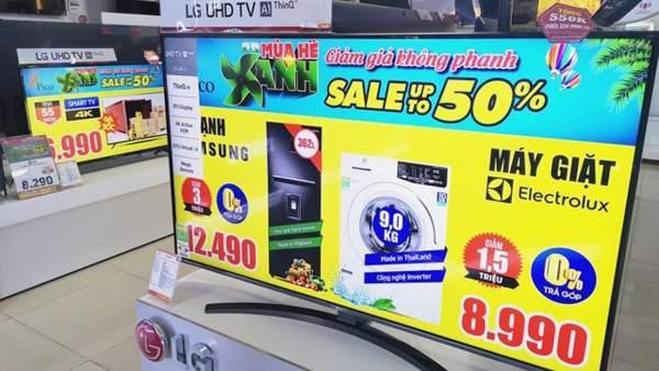 tivi giam gia 600x338 - Tivi màn hình lớn nào đang giảm giá sốc?