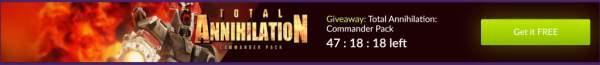 Đang miễn phí game RTS kinh điển Total Annihilation: Commander Pack
