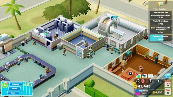 Đánh giá game Two Point Hospital (Switch)