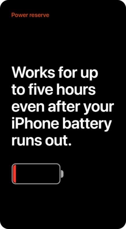 Chế độ Dự trữ năng lượng trên iOS 14