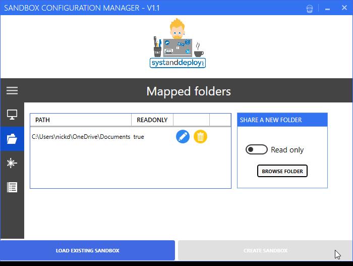 windows sandbox configuration manager 1 - Cách cấu hình Windows Sandbox dễ dàng