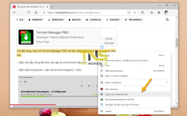 Sử dụng tính năng Scroll to Text Fragment trên Microsoft Edge mà chẳng cần extension của Google 2