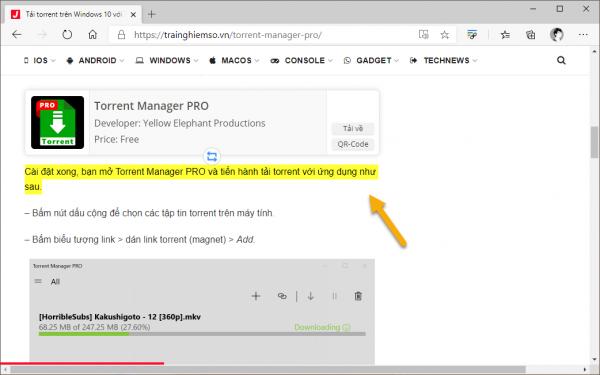 Sử dụng tính năng Scroll to Text Fragment trên Microsoft Edge mà chẳng cần extension của Google 3