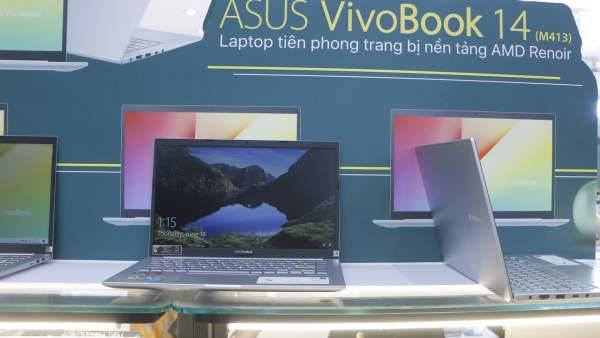 FPT Shop lên kệ ASUS VivoBook 14 (M413), laptop tiên phong sử dụng CPU AMD Ryzen 4000 2