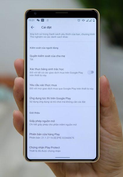 Google đang hỗ trợ Bkav cấp chứng chỉ cho Bphone B86 2
