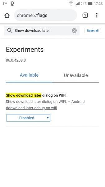 Cách lên lịch tải xuống trên Android bằng... Google Chrome 3