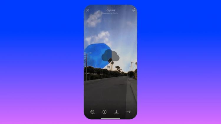 Magic Sky Camera: Tạo ảnh động vui nhộn với bầu trời meme 1