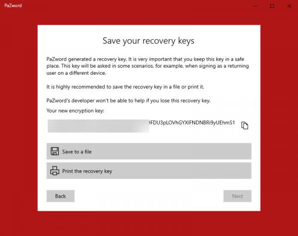 Ứng dụng UWP tuyệt vời để lưu giữ tài khoản web trên Windows 10 3