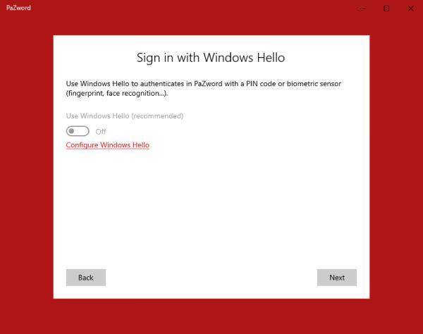 Ứng dụng UWP tuyệt vời để lưu giữ tài khoản web trên Windows 10 5