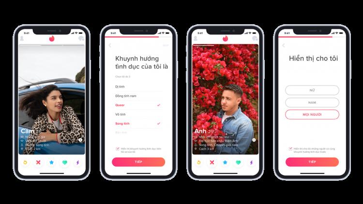 Tinder 750x422 - VinSmart phát triển thành công điện thoại Vsmart Aris 5G
