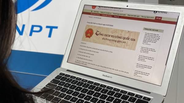 VNPT PAY cung cấp thanh toán cho toàn bộ dịch vụ trên Cổng Dịch vụ công Quốc gia 1