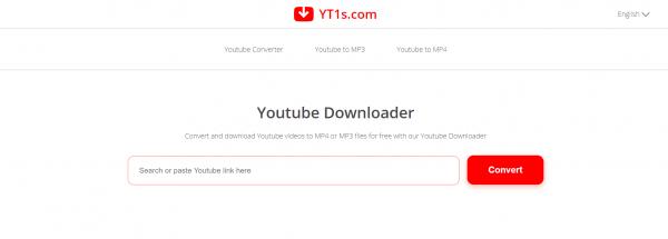 YT1s: Lấy link tải, chuyển đổi video YouTube chỉ 1 giây 1
