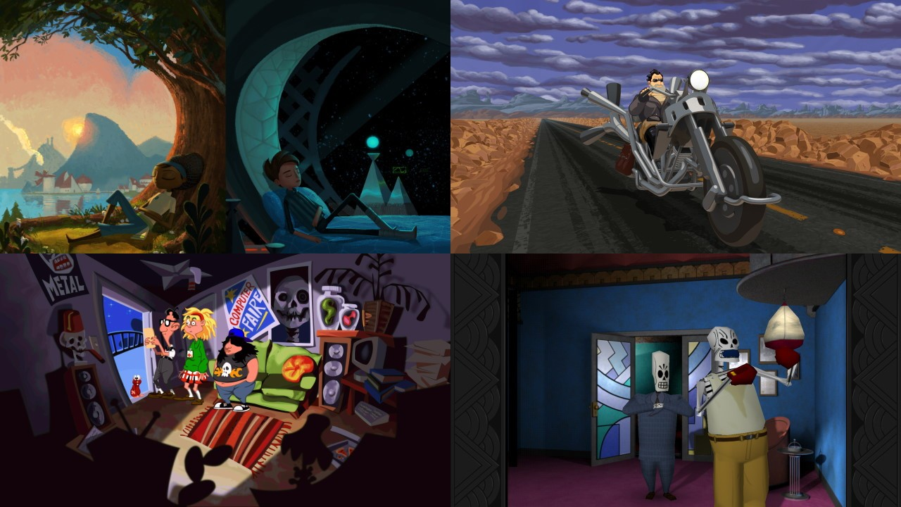 Đang miễn phí game Broken Age và bản remaster 3 game Full Throttle, Day of the Tentacle, Grim Fandago cho Mac