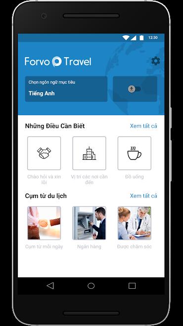 Trọn bộ ứng dụng học ngoại ngữ Forvo đang miễn phí, mời bạn tải 1