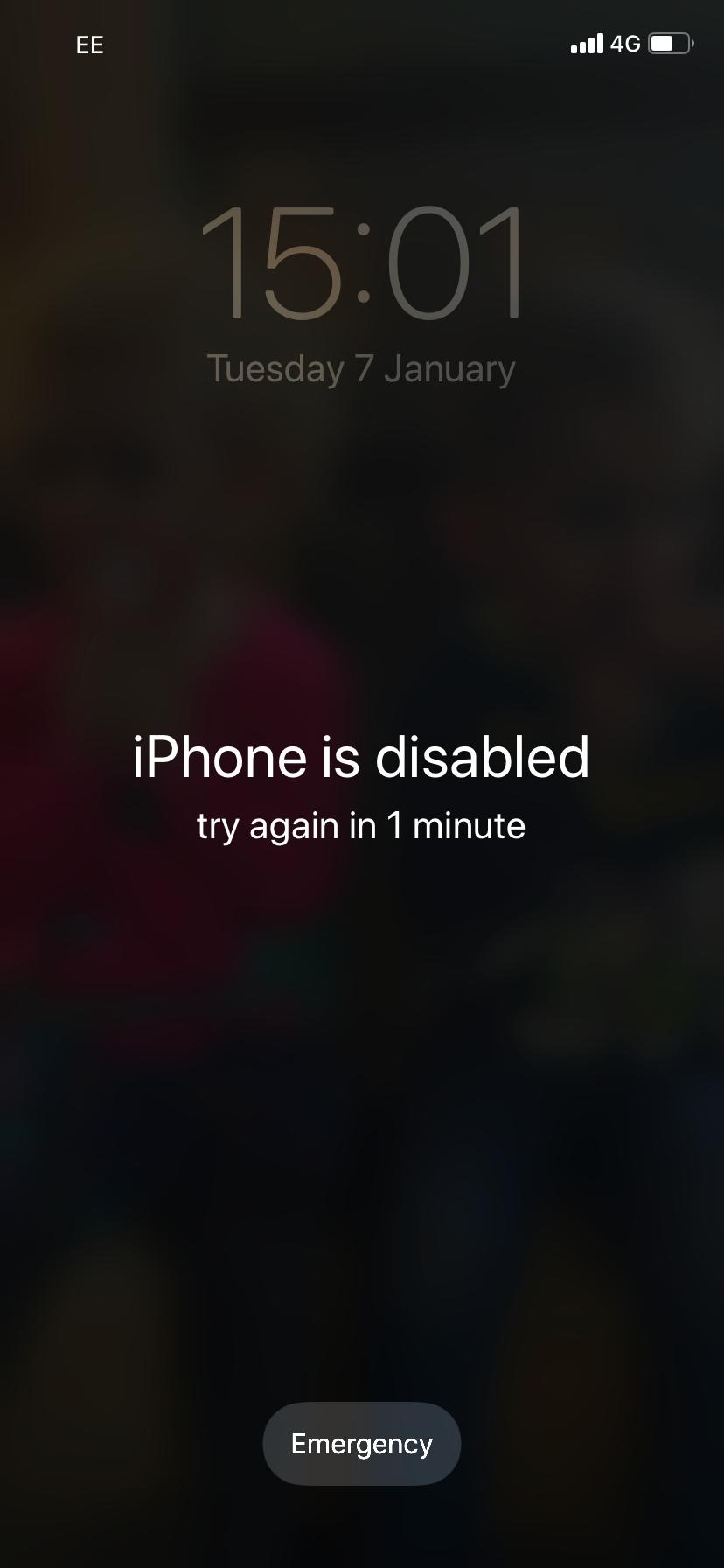 iPhone bị vô hiệu hóa kết nối iTunes