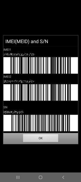 kiểm tra điện thoại Samsung chính hãng