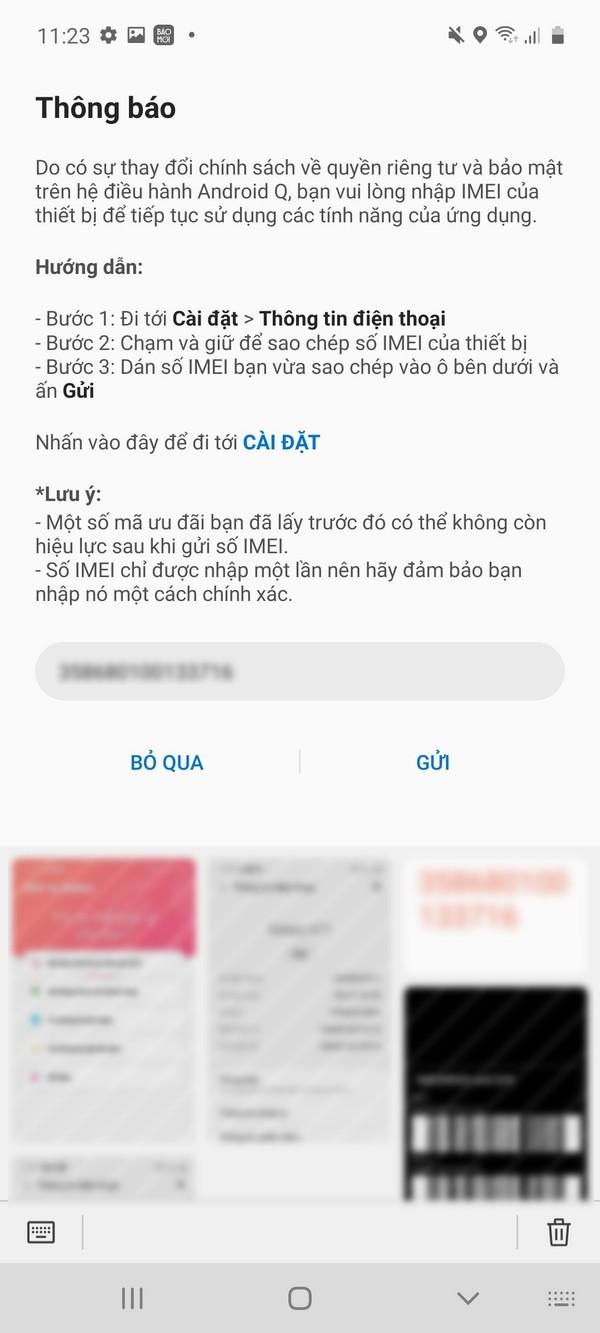 Cách kiểm tra điện thoại Samsung chính hãng 2