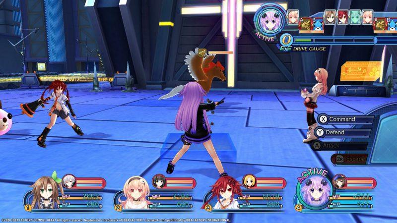 Đánh giá game Megadimension Neptunia VII (Switch)