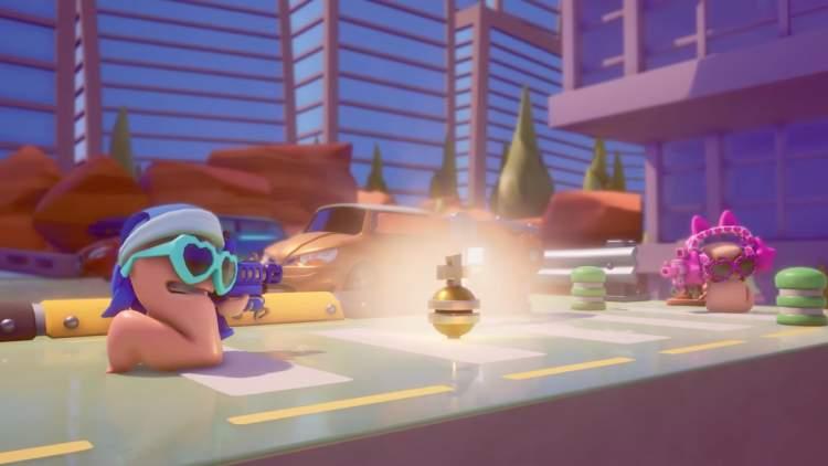 Worms Rumble hé lộ hỗ trợ cross-play đến 32 người, mời bạn đăng ký close beta