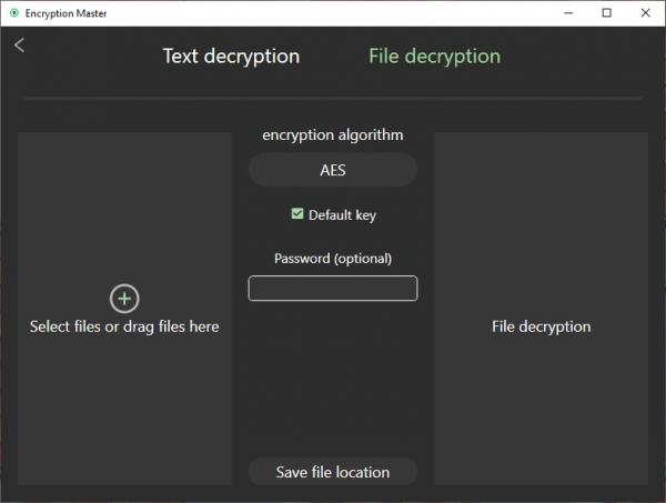 Encryption Master: Mã hóa văn bản, tập tin an toàn với nhiều thuật toán cao cấp 5