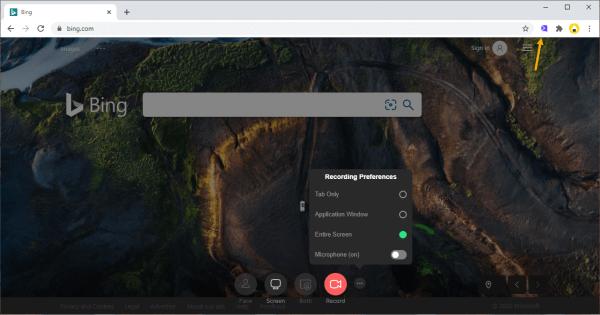 Cách quay video màn hình win 10 dạng workspace với Sendspark 2
