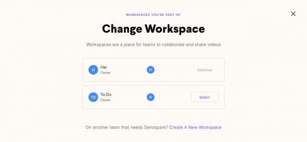 Cách quay video màn hình win 10 dạng workspace với Sendspark 10